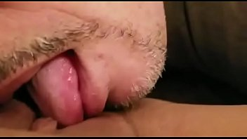 pussy watches wifes husband lesbian his eat Stroking thigh under table