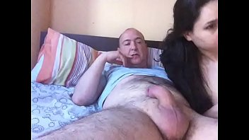 two one pleasuring lucky girls guy Tocando no pau