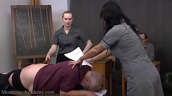 forced spank twink Mom blackmailed threesome