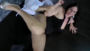 blackmail german milf forced Hairy pussy creamed
