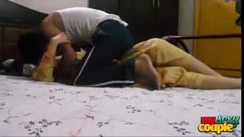 by hotel red anjh saree in girl indian Preteens masturbate together