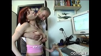 italian forced old Wife gets fucked at gyno exam while for her