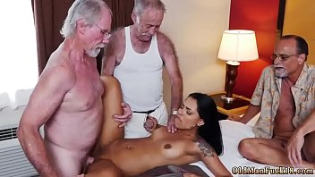 ends foursome swinger cumshot with Male spanks female