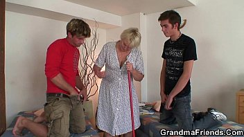 grannies stilettos old wearing Young boy creampie porn tube