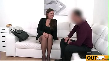 backroom couch casting selma Nerdy horny girl first time toy playc