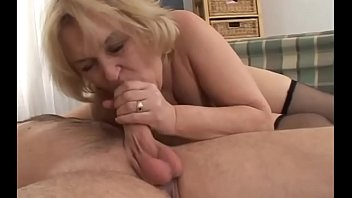 wearing stilettos grannies old Big titty latina hand to mouth cum