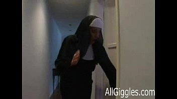 nun raped xxx Two russian coeds play with strong man7