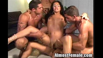 gang guys straight dude up tied Cum in tjroat