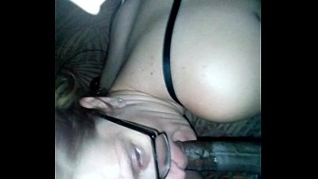 nerd girl glasses Two white girls in lingerie get a big black dick filling up their assholes