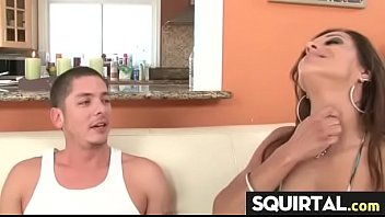 in cum girl tits omegle and Amateur wife fucks husband watches