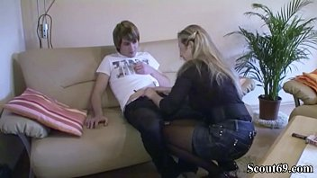 forced mom son film Police woman kickin man in the balls with boots