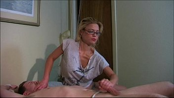 tied man up mouth Her son a peep step in bathroom