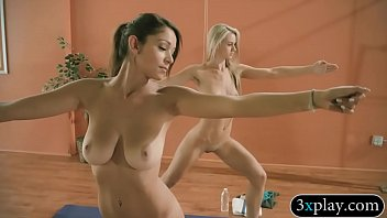 yoga student sex teacher in hindi Cowboy force two females have sex