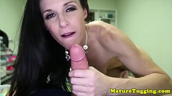young milf by fucked cock Wifes pussy and tits