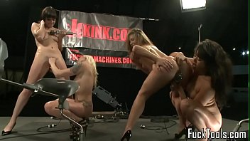tied bondage machine fucking Young and healthy uncensored pussy