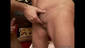 the it granny takes ass in horny Young couple fucking in a nest