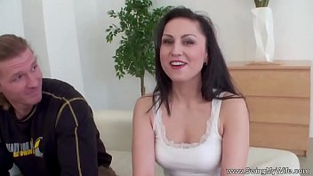 wife husband her badly beating Candace von feet lesbian