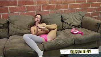 hole in panties Devon s first porn scene as an amateur